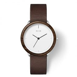 Watch Made from sustainably sourced Wood and Recycled Stainless Steel