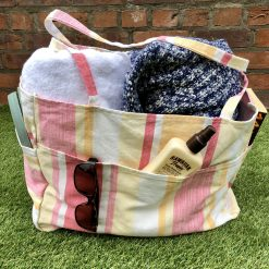 100% Cotton Beach Bag (Laura Ashley Fabric)